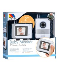 "Vigilabebé intercomunicador Baby Monitor 2"" Screen Moltó"